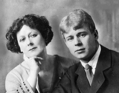Duncan and Sergei Yesenin in 1923