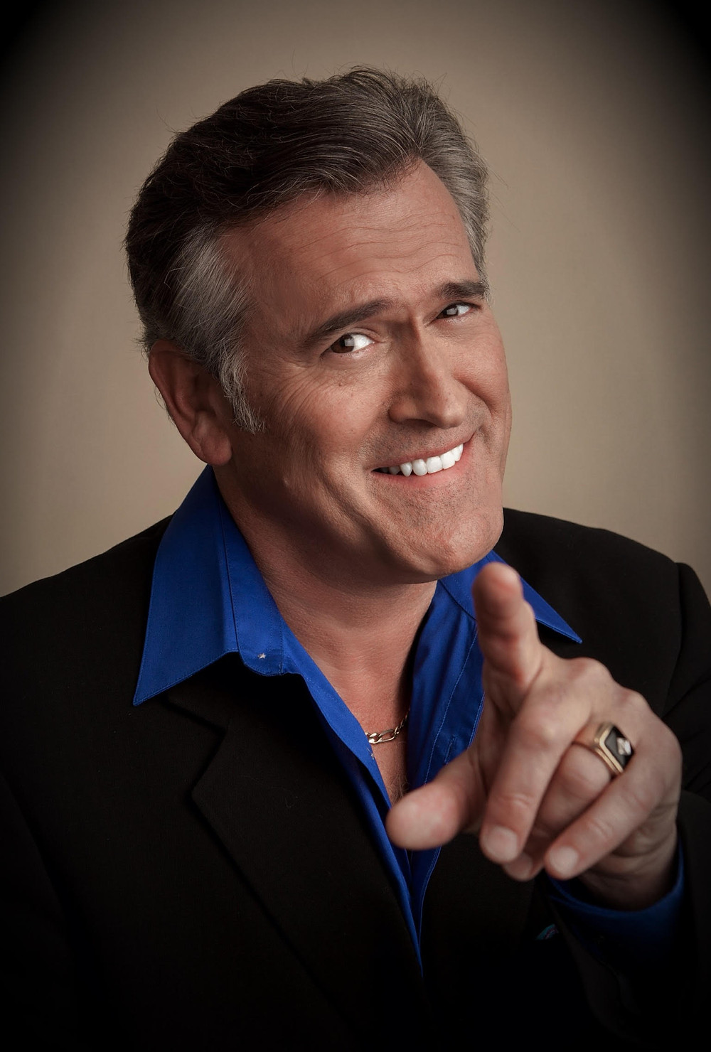 Bruce Campbell on the Legend of Bruce Campbell and 40 years of Evil Dead | Image Curtesy of Mike Ditz