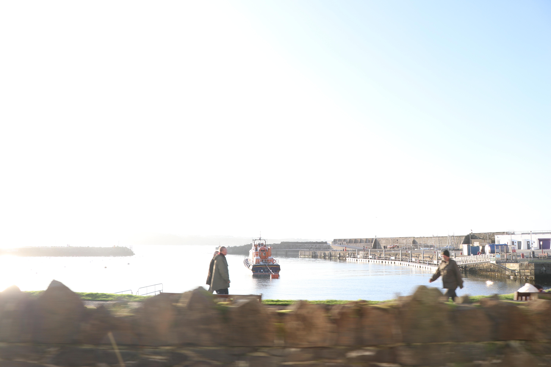 A Boat Waits