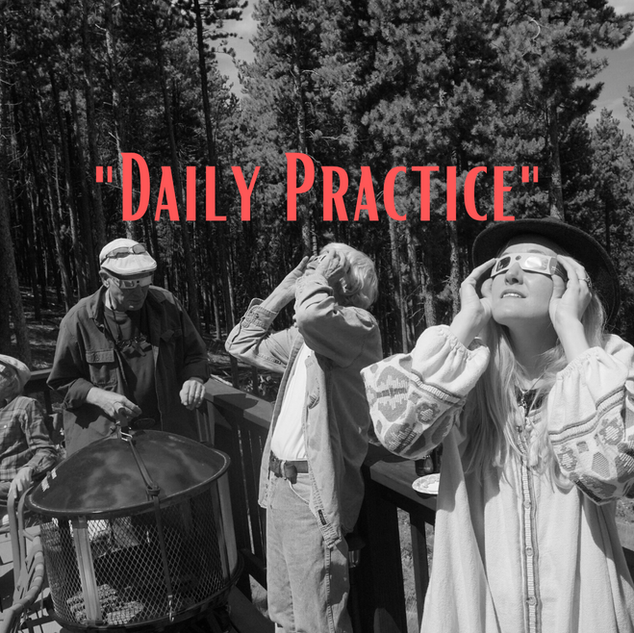 """Daily Practice"" - Elizabeth Oxley"