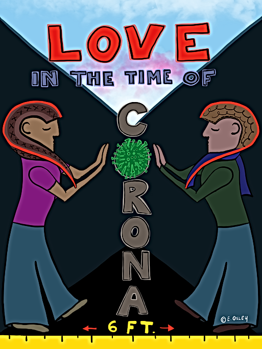 Love in the Time of Corona copyright Eli