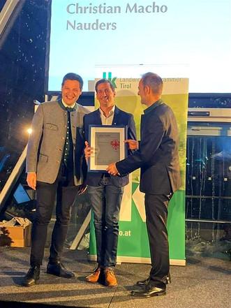Macho Destillerie Auszeichnung