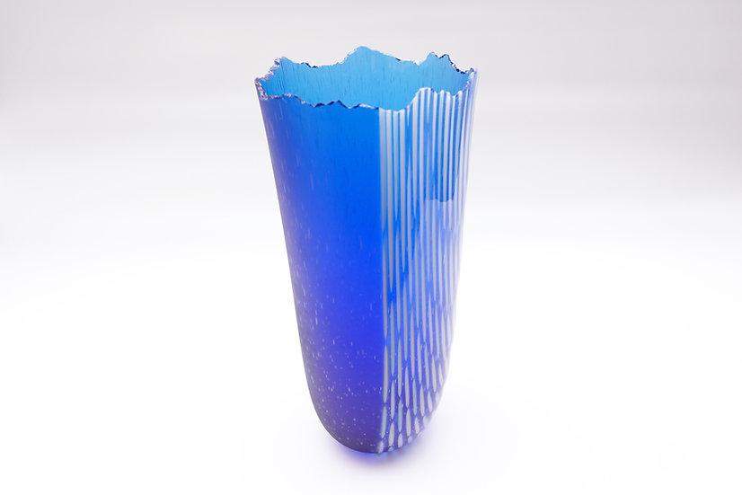 Vase Almaz - Cobalt Blue