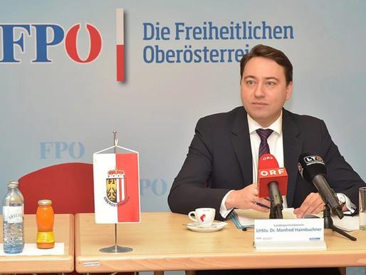 Neues von der FPÖ Stellungnahme von Landesparteiobmann Dr. Manfred Haimbuchner