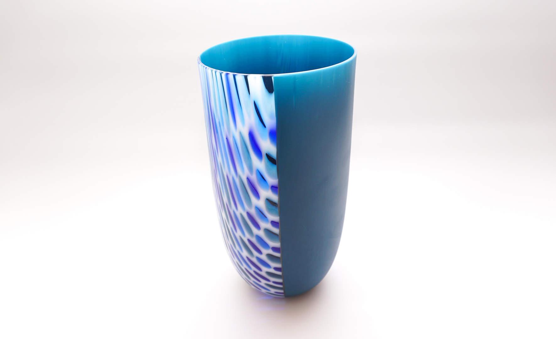 Vase Dunumba - Steel Blue