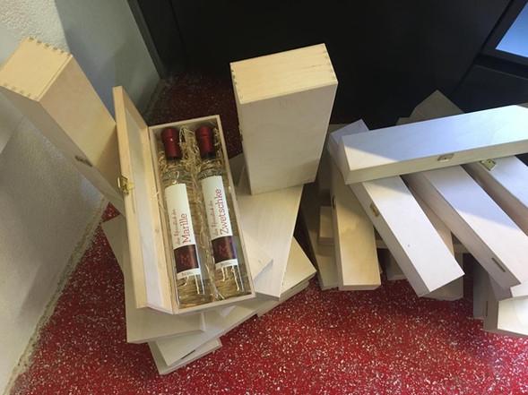 Macho Destillerie Schnaps Geschenkboxen