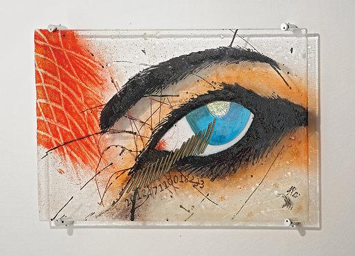 """Glasbild Serie Der Gläserne Mensch """"Das Auge"""""""