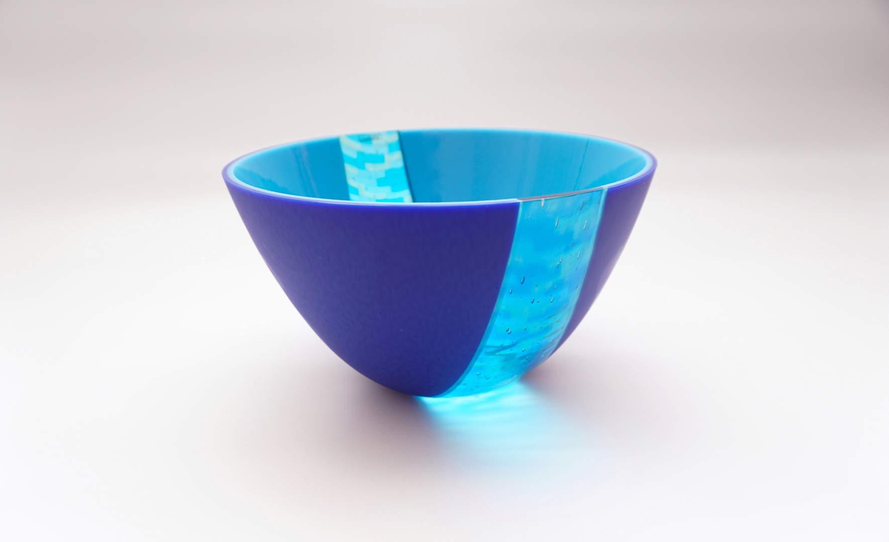 Deep Bowl Dzemila - Cobalt Blue, Cyan
