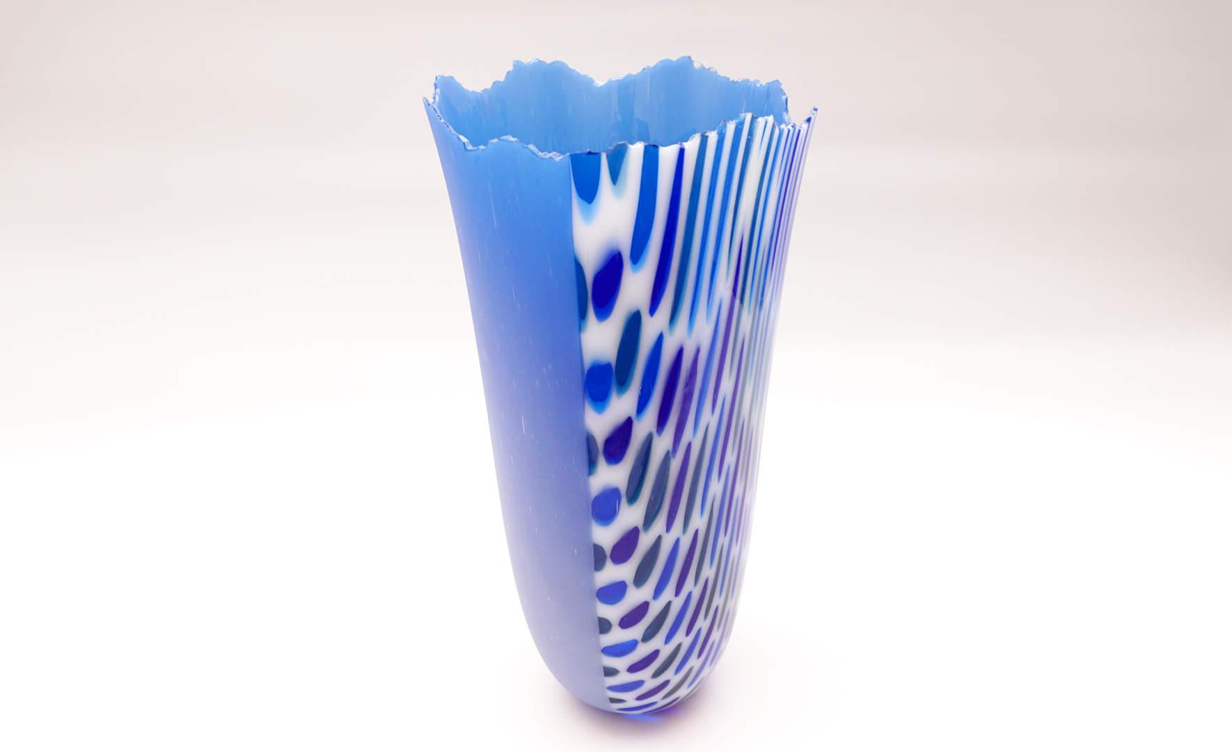 Vase Zhenga - Cobalt Blue