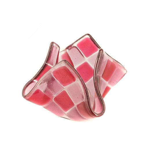 Teelicht klein | Pink / Helles Pink