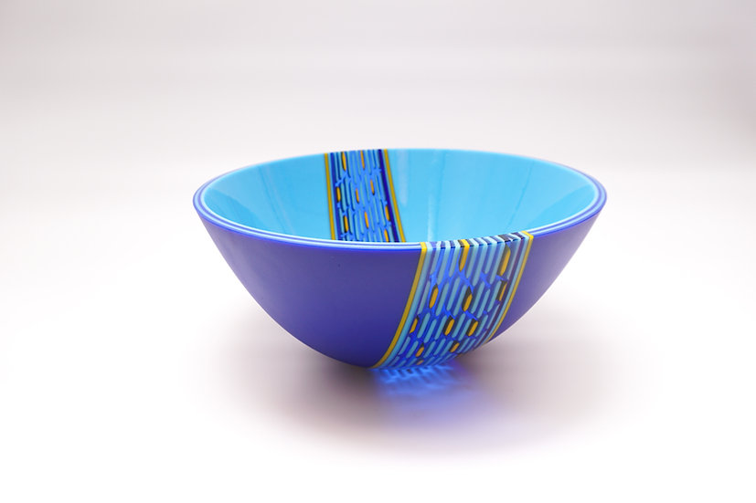 Deep Bowl Jala - Cobalt Blue, Cyan