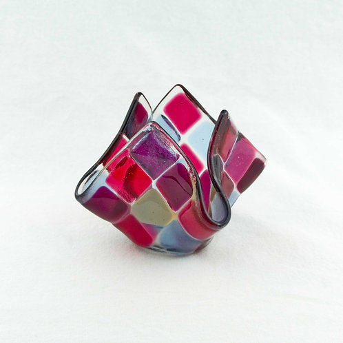 Teelicht klein | Fuchsia / Pink / Lavendel