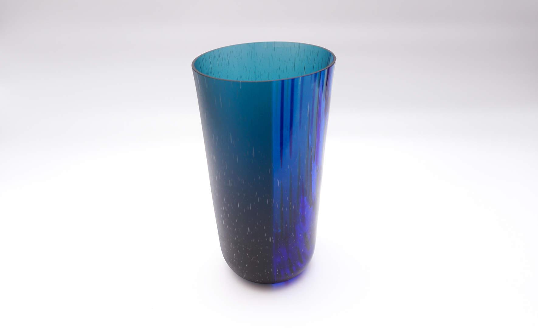 Vase Ukujule - Indigo Blue