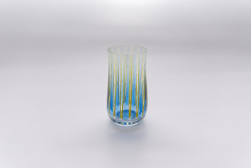 Glas Marimba - Blue Vanillia / Yellow