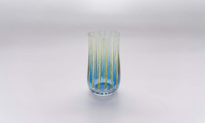 Glas Marimba - Blue Vanillia / Yellow