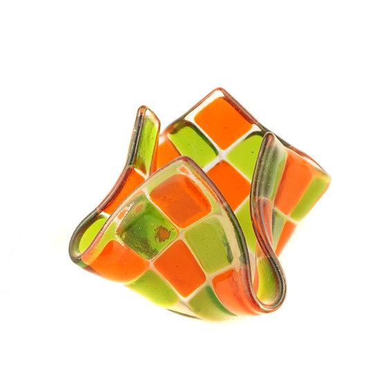 Tealight small | light orange / green