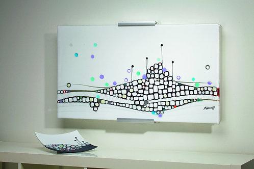 """Glasbild Serie Mosaike """"Fisch"""""""