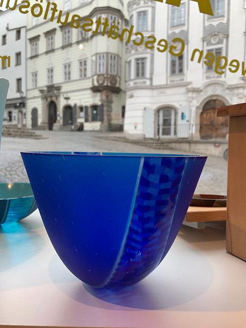 Deep bowl true blue