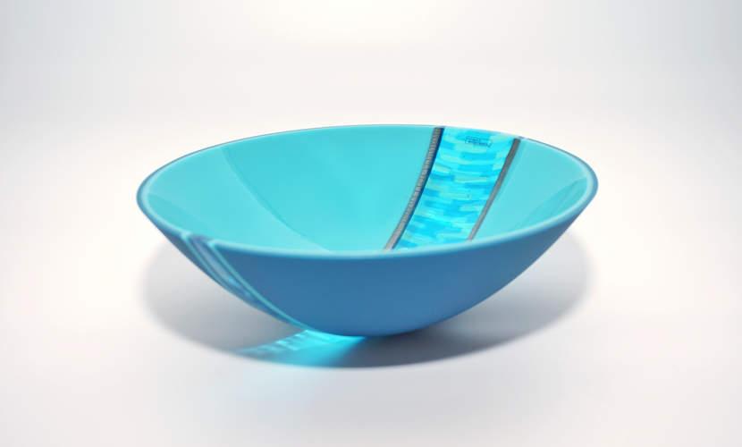 Schale Ukujule - Steel Blue, Turquoise