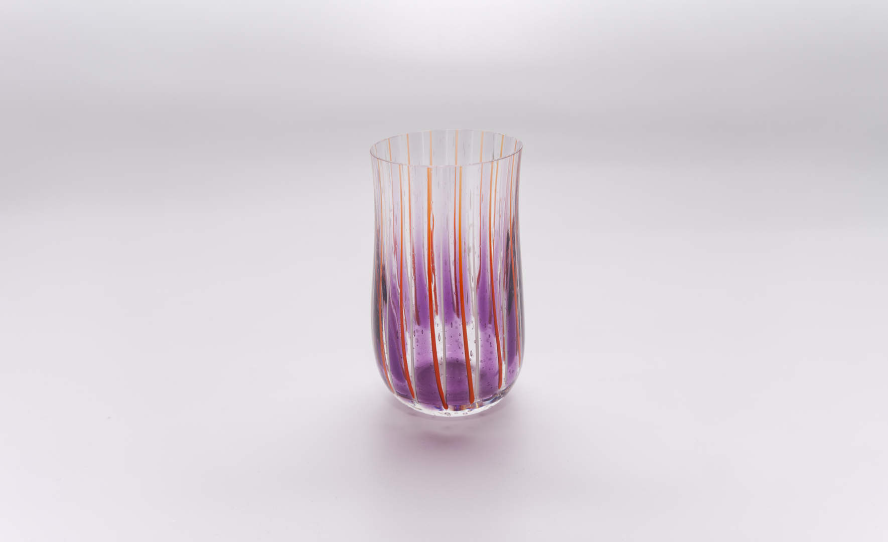 Glas Marimba - Violett Orange / Vanillia