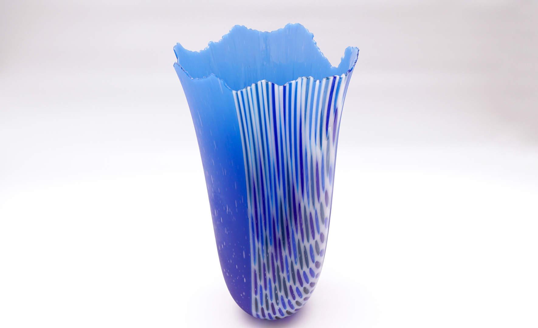 Vase Impphoma - Steel Blue