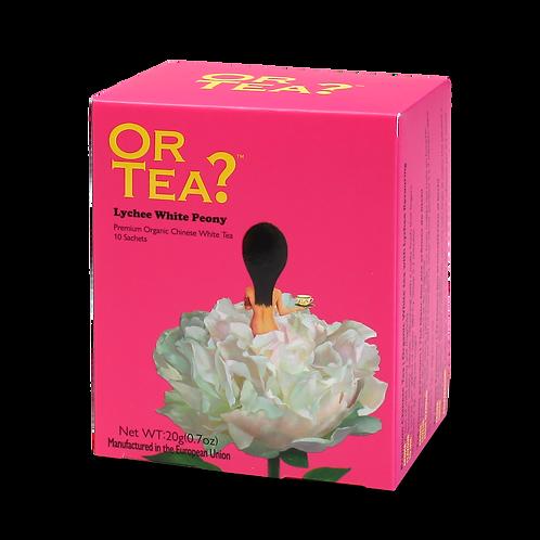 "Or Tea? 10-sachet Box ""Lychee White Peony"""