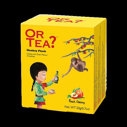 """Or Tea? 10-Sachet Box """"Monkey Pinch"""""""