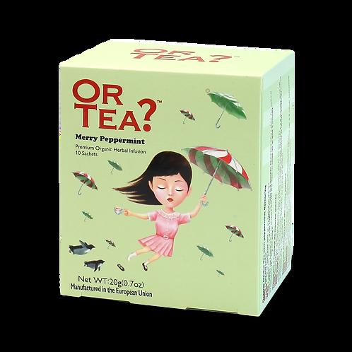 "Or Tea? 10-sachet Box ""Merry Peppermint"