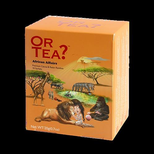 "Or Tea? 10-sachet Box ""African Affairs"""