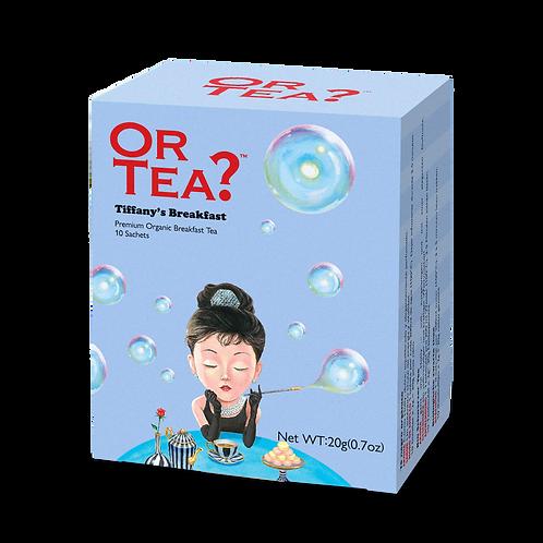"""Or Tea? 10-Sachet Box """"Tiffany's Breakfast"""""""