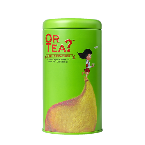 """Or Tea? Tin Canister """"Mount Feather"""""""