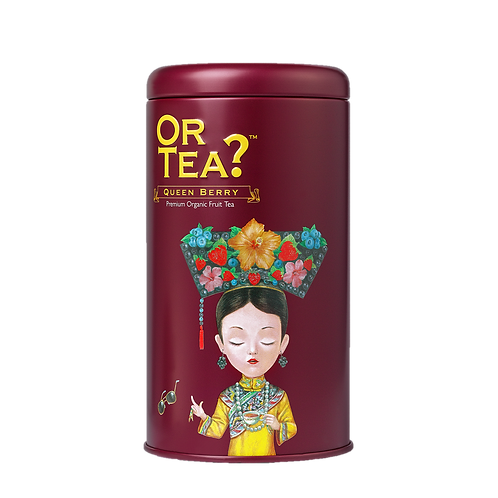 "Or Tea? Tin Canister ""Queen Berry"""
