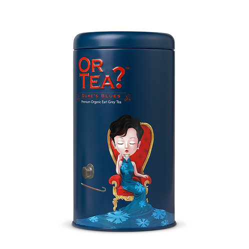 "Or Tea? Tin Canister ""Duke's Blues"""