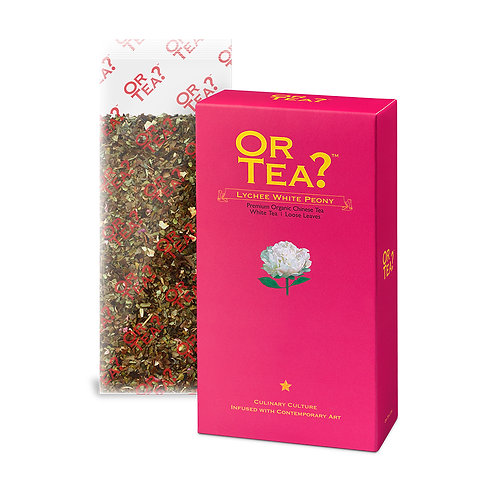 """Or Tea? Refill """"Lychee White Peony"""" - 50g"""