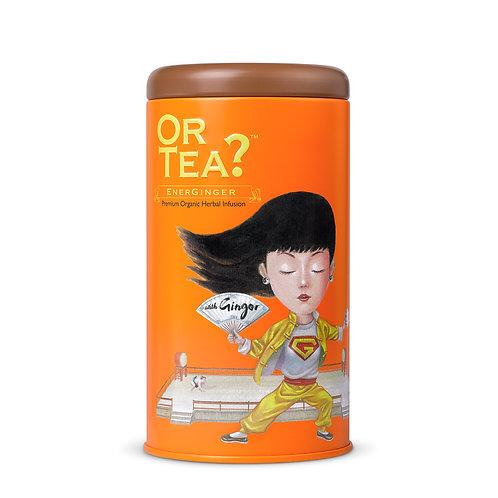 "Or Tea? Tin Canister ""EnerGinger"