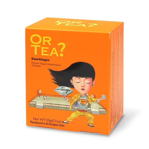 "Or Tea? 10-sachet Box ""EnerGinger"""