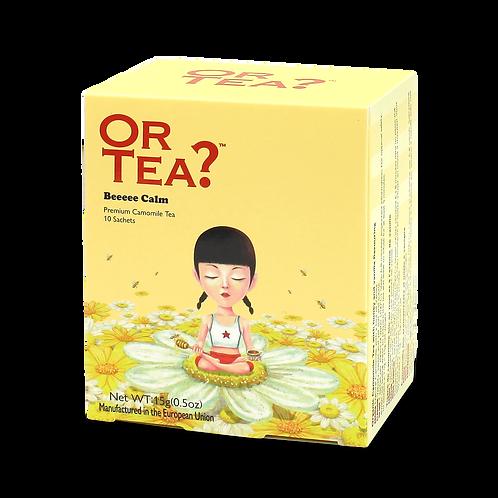 """Or Tea? 10-Sachet Box """"Beeeee Calm"""""""