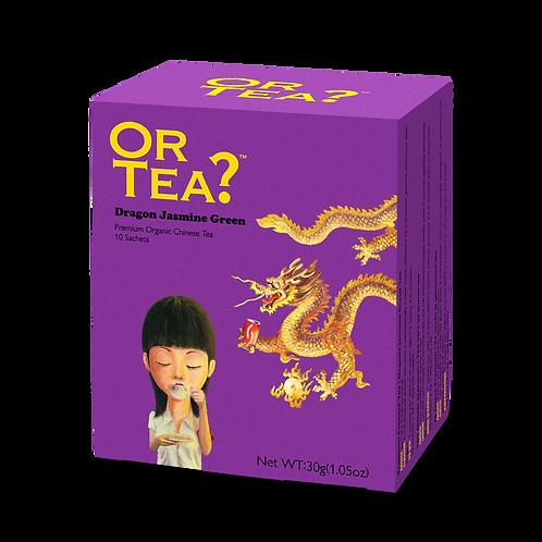 "Or Tea? 10-Sachet Box ""Dragon Jasmine Green"""
