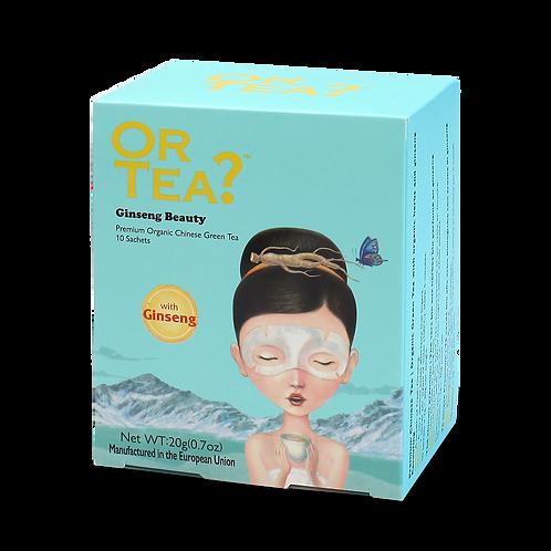 "Or Tea? 10-Sachet Box ""Ginseng Beauty"""