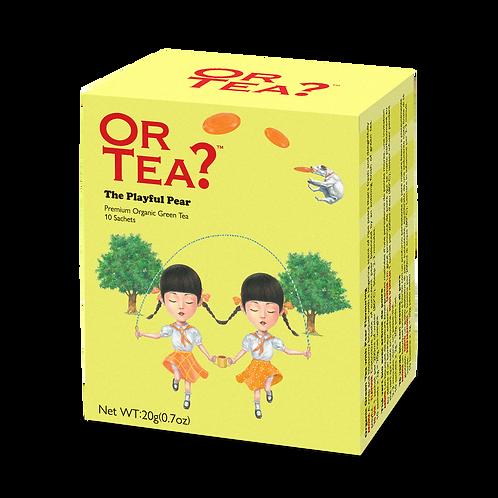 """Or Tea? 10-Sachet Box """"The Playful Pear"""""""