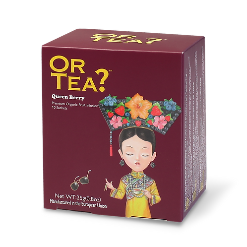 "Or Tea? 10-sachet Box ""Queen Berry"""