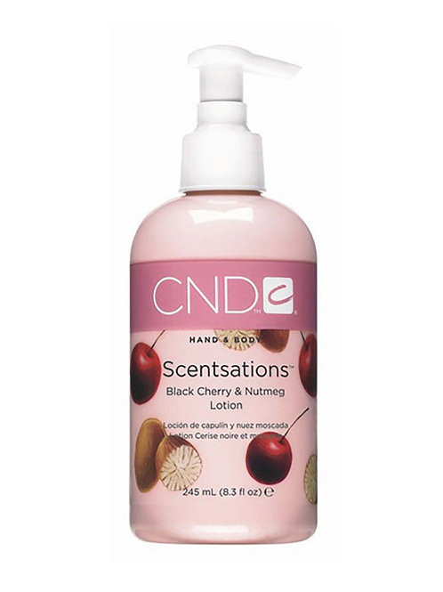 CND Scentsations Black Cherry & Nutmeg Lotion - 245 ml