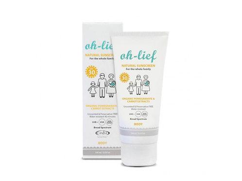 oh-lief Sunscreen Body SPF 30 - 100 ml