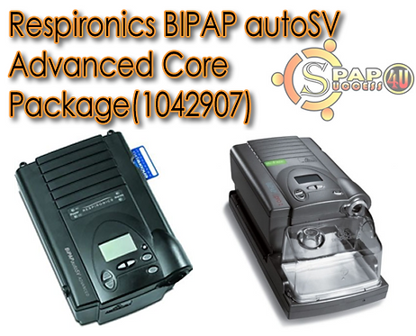 Respironics BIPAP autoSV Advanced Core Package Item 1042907