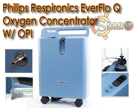 Philips Respironics EverFlo Q Oxygen Concentrator W/ OPI