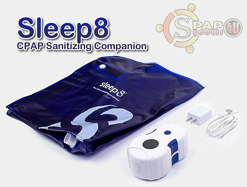 Sleep8 Cpap Cleaning & Sanitizing Companion