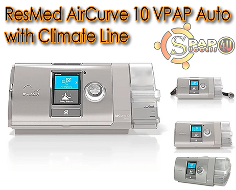 ResMed AirCurve 10 VPAP Auto w/Climate Line