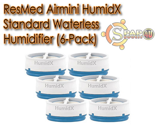 ResMed Airmini HumidX Standard Waterless Humidifier (6-Pack)