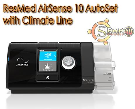 ResMed AirSense 10 AutoSet w/Climate Line
