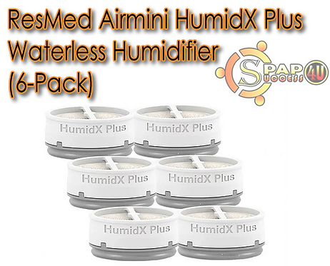 ResMed Airmini HumidX Plus Waterless Humidifier (6-Pack)